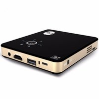 Wholesale Portable Intelligent Projector Android Projector Mini Home Cinema DLP Full HD P HDMI LED with Battery mAh