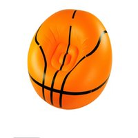 Wholesale XIANGJUN adult inflatable sofa pvc small outdoor basketball lazy multifunction portable circular sofa couch