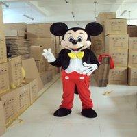 Vente directe d'usine Mickey Mouse costume de mascotte Mickey Mascot Costume Fancy Mickey Minnie costume de mascotte pour adultes Personnes