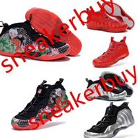 foamposite - With shoe box Penny Hardaway Foamposites One Galaxy mens basketball shoes Penny Hardaway foamposite basketball shoes for men size