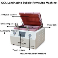 Cheap All in One 15 inch Vacuum OCA Laminating Bubble Remover Machine Built-in Vacuum Pump Air Compressor intelligent Debubble