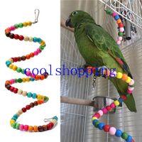 Wholesale Multicolor Beads Birds Cage Toys Pets Birds toys Parrot Toy