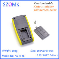 ak batteries - 1 pc mm high quality abs plastic handheld enclosure for x AA battery szomk china market of electronics project box AK H