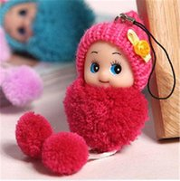 baby boy pendants - Kids Baby Plush Toys Cute Mini Dolls Pendant Gift For Girls Boys Toy Cartoon Movie