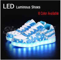 adult all cotton fabric - XMAS Party Shiny LED Shoes For Adults Couples Luminous USB Charge Fashion Casual Sneakers Color Available All the Seasons Fitted Shoes