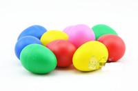 Wholesale Hot Sale Multicolour Plastic sand eggs babys children percussion rattles Kindergarten educational children toy