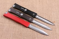action auto sales - Hot Sale Microtech Marfione Nemesis Single Action Auto Knives quot Cr13Mov Steel Satin Hunting Survival Camping Knife Gift F678L
