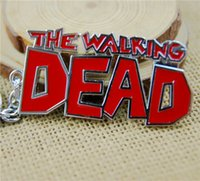 Wholesale 6 cm Walking Dead Theme Keychains Zombies Chains Fashion key chain For Walking Dead Fans