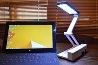 Wholesale Hight Quality Bright W LEDs New LED Desk Lamp Table Lighting Toughened Glass Base USB AC V V