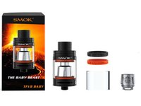 Wholesale Smok TFV8 Baby Tank ml Top Refill TFV8 Baby Cloud Beast Atomizer Newest sub ohm TFV8 Baby e cig tanks Original vs tfv8 tank