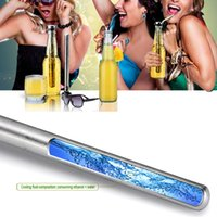Wholesale Set of Beer Chiller Stick Stainless Steel Chill Alcohol Ice Drinks Wine Cold