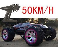 al por mayor 4x4 control remoto-Al por mayor-grande estupendo coche de control remoto de alta velocidad 4x4 carreras profesionales super potencia modelo de coche de juguete libre del envío