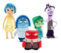 Wholesale 20 cm Baby Kids Piar Movie Inside Out Plush Toy Cartoon Sadness Fear Joy Disgust Anger Figure Dolls Kids Birthday Games Stuffed Gifts