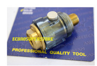 air tool oiler - Solid Brass Air Line Oiler of TWO high impact plastic Mini IN LINE OILER LUBRICATOR Oil