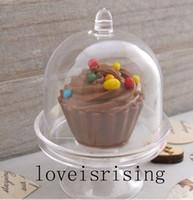 Nouveaux arrivages - 20pcs / lot Mini blanc clair Cupcake boîtes Wedding Favor Caisses pour Lovely Baby Shower Party Supplies boîte à gâteau boîte à bonbons