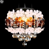 art flower delivery - European style bedroom led crystal lamp flowers restaurant lamps Bedroom lamp Hall Chandeliers free delivery