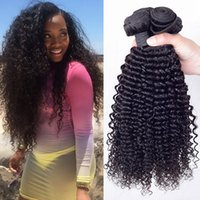 Cheap Mink Brazilian Curly Virgin Hair Wefts 4Pcs Brazilian Virgin Hair Deep Wave Brazilian Kinky Curly Virgin Hair Human Hair Weave Curly On Sale