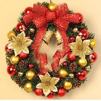 Wholesale forest garden NEW CHRISTMAS GARLAND Tinsel Color bar party garlands Christmas wall mounted