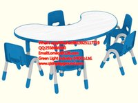Wholesale Preschool Furniture Used Plastic Tables and Chairs for Kids