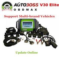 american domestic - AUTOBOSS V30 Elite Scanner Original update on line V30 elite Asian European American domestic English Spanish Russian
