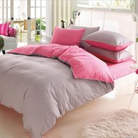 Wholesale 100 Cotton Home Textiles Double Bed m Linens pillow case Activity Cotton Plain Linens pillow Linens pillow Bedding Bags Bedding Supplies