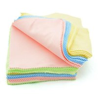 Wholesale Hot Microfiber Phone Screen Camera Lens Glasses Square Cleaner Cleaning Cloth