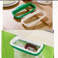 Wholesale Hoomall Brand Kitchen Folding Hanging Trash Rubbish Bag Holder Garbage Rack Cupboard Storage Hanger KKA62