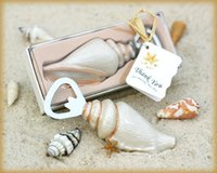 beach wedding favors - quot Shore Memories quot Sea Shell Bottle Opener wedding favors and gifts For Beach theme wedding