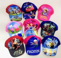 baseball hats for girls - Avenger Hats Caps Childrens Frozen Teenage Mutant Ninja Turtles Sofia Baseball Caps for Boys Girls Sun Hats
