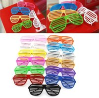best shutters - New Best price Shutter Glasses Full Shutter Glasses Sunglasses Glass fashion shades for Club Party sunglasses