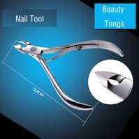 beauty hands dead skin - Stainless Steel Cuticle Scissors Manicure Pedicure Nail Tools Foot Hand Dead Skin Remover Beauty Makeup Cuticle Clipper Nipper