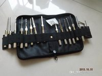 Wholesale 2016 Auto tool dimple pick set Auto locksmith tools Dimple Hand Pick Set H232