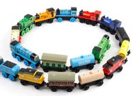 Wholesale Wooden Small Trains Cartoon Toys Styles Trains Friends Wooden Trains Car Toys Children Toys Best Christmas Gifts MOQ