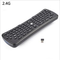 Wholesale fly air mouse T6 android remote control g mini wireless keyboard Ghz Wireless Axis Gyroscope T6 Fly Air Mouse
