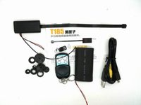 Wholesale Remote control DIY camera T186 Full HD P security cameras mini DV camera Module Hidden spy CCTV DVR Camcorders PC webcam USB Disk