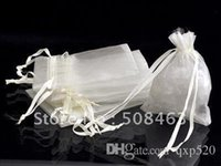 Wholesale Free ship cm organza pouch gift organza bags
