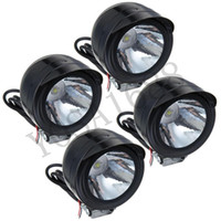 Wholesale 4pcs W LED Spot Light Lamp Headlight V V For Off Road bike Car Truck ATV SUV