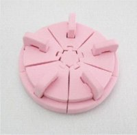 Wholesale New Nail Form Hold Hand Care For Nail Gel Polish Tips Tool SET nail polish remover jar