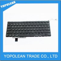 Wholesale For Macbook Pro quot A1297 Laptop Parts US Keyboard US Layout Keyboard Replacement High Quality Perfect Working