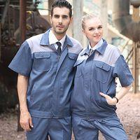 beauty saloon - SET OF COAT PANTS Short sleeve property management uniform car beauty coat car saloon uniform
