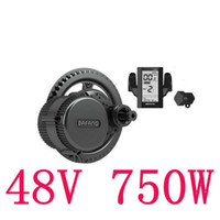 Wholesale 48V W fun Bafang Mid Drive Central Motor C965 LCD BBS02 Latest Controller Crank Motor Eletric Bicycles Trike Conversion DIY Ebike Kits
