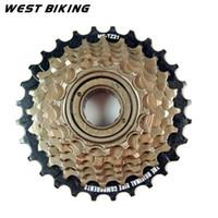 Wholesale 7 speed Mountain Bike Card Type Freewheel Cycling Freewheel Road Mountain Bike Tooth Cassette Brake Bicycle Bike Freewheel