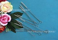 Wholesale 100pcs stainless steel wire cleaning brush straws cleaning brush