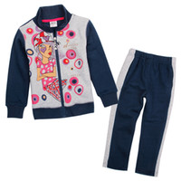 Wholesale The children set the spring and autumn fashion and leisure eighty percent cotton high quality and inexpensive