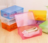 Wholesale Environmental Friendly Plastic Box Shoes Box Container for Home Storage Boxes and Bins Very Convenient Box for Home Use