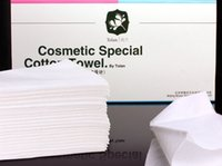 Wholesale cosmetic special piece cotton disposable cleansing towels travel wash cosmetic tissues cotton towel classic DHL Ship