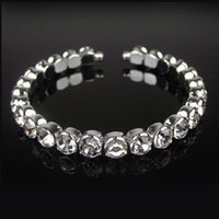 asian style design - 2016 In Stock Cheap Women Bracelets Shining Rhinestones Fashion Design Style Wedding Bridal Wear Tennis