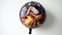 aluminium picture - 5pc children party balloons star wars balloons inch with two side picture cartoon foil balloons