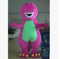 barney the dinosaur costume - 2016 do manual work is delicate Barney the Dinosaur Adult Size Halloween Cartoon Mascot Costume Fancy Dress
