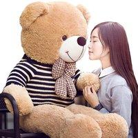baby panda china - Large sweater plush toy bear Tactic bear doll birthday female bear doll doll Panda Lovely like Well done
